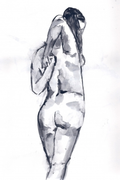 Life drawing - Feb 2014
